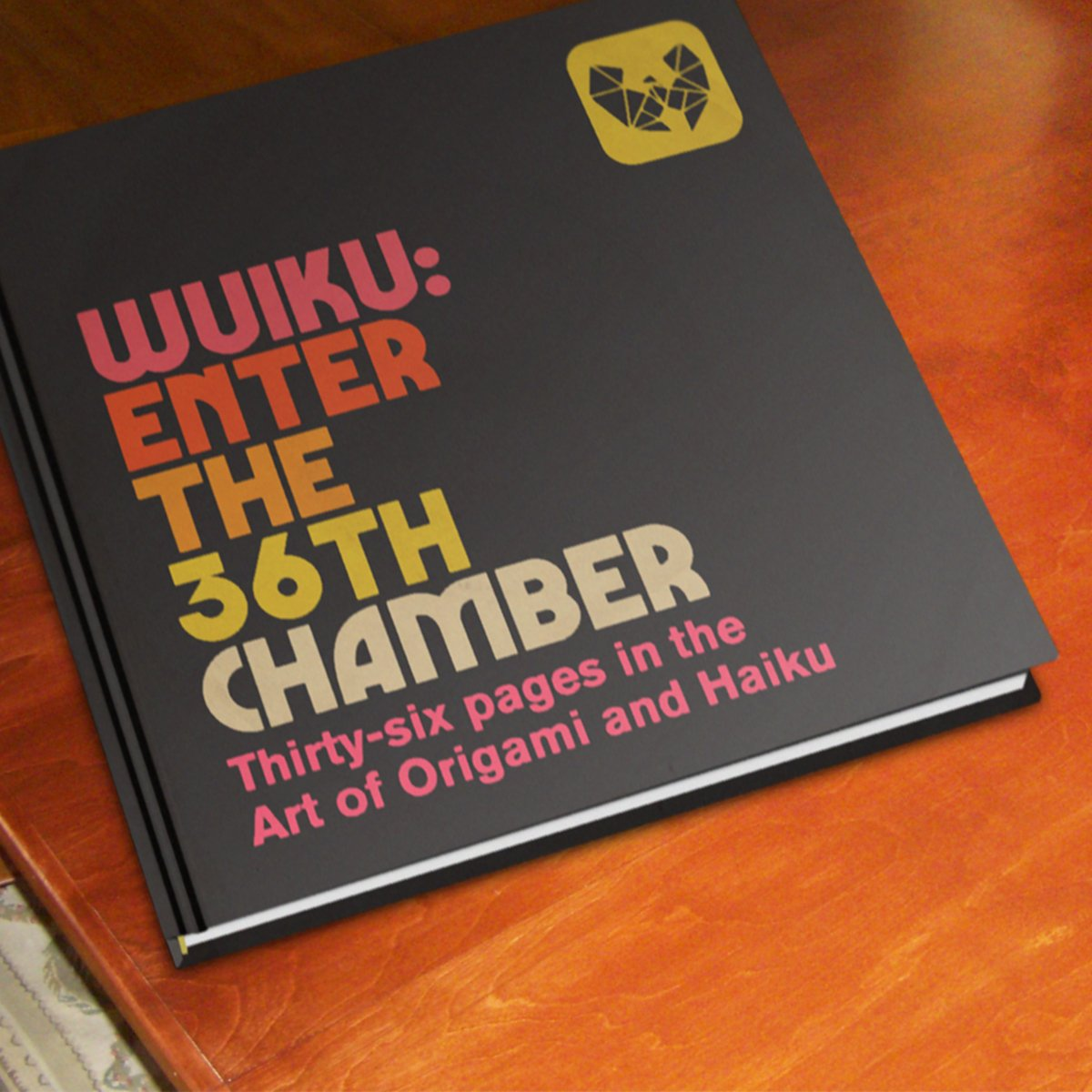 Square mock up of the Wuiku: Enter The 36th Chamber Book