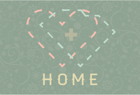 Home is Where the Heart is in SC Postcard Front