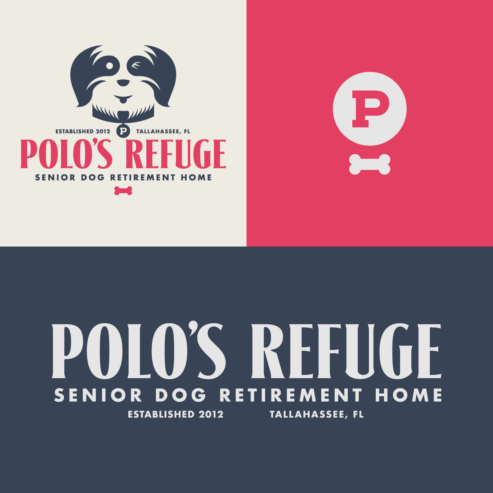 Polo's Refuge Logo and Identity Design By Design Cypher
