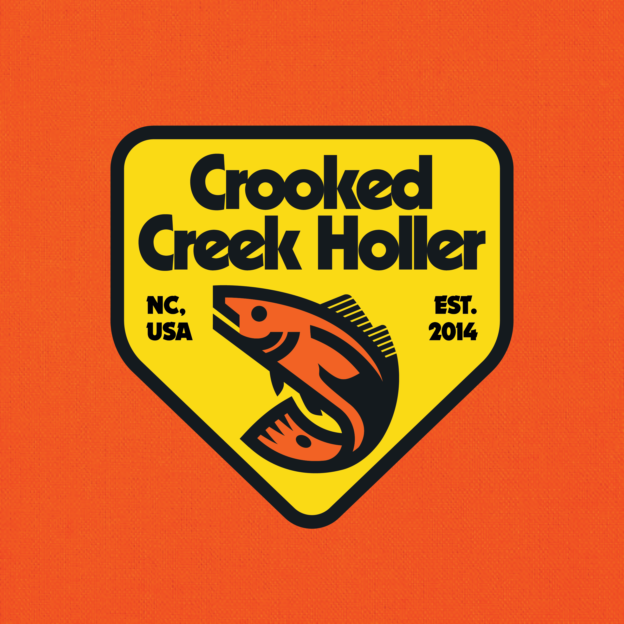 Crooked Creek Holler Logo 2018 by Design Cypher