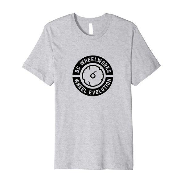 BC Wheelworks - Wheel Evolution Tshirt in Grey