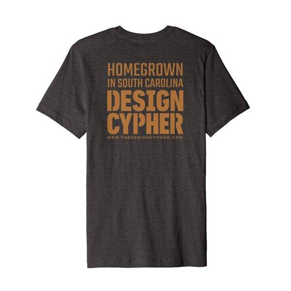 Back design for Homegrown in SC Shirt