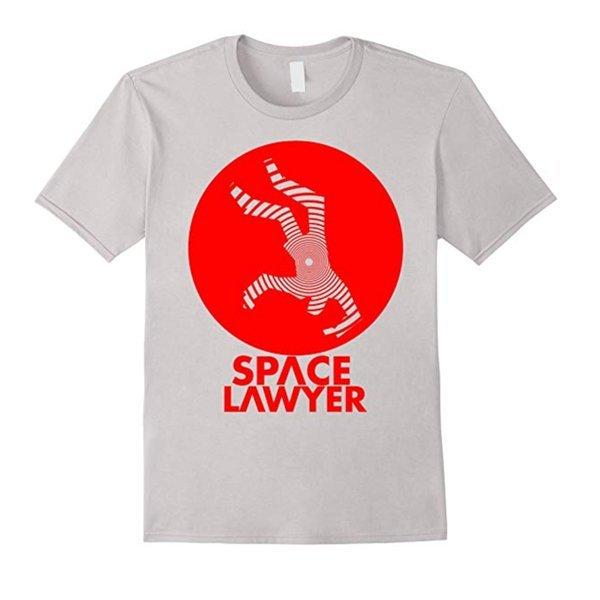 Kirk Battle's Space Lawyer Tshirt in Grey