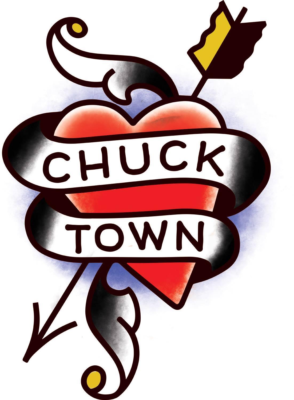 """CHS Beer Week Temporary Tattoo Design - """"Chucktown"""""""