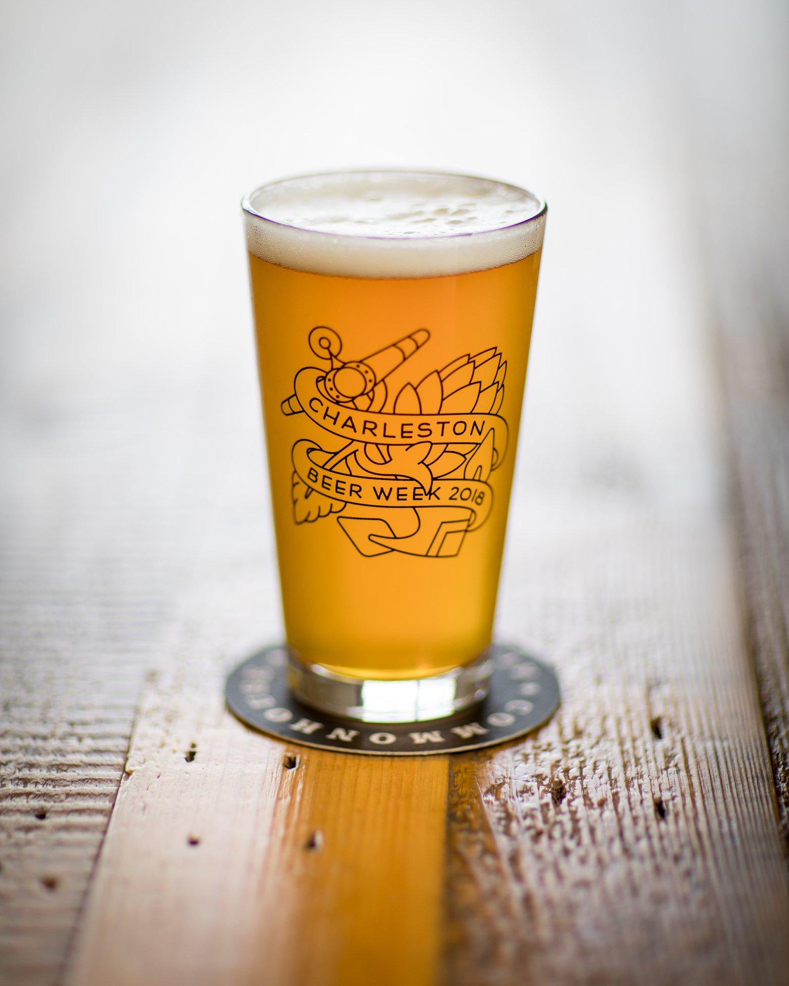 Charleston Beer Week 2018 Pint Glass