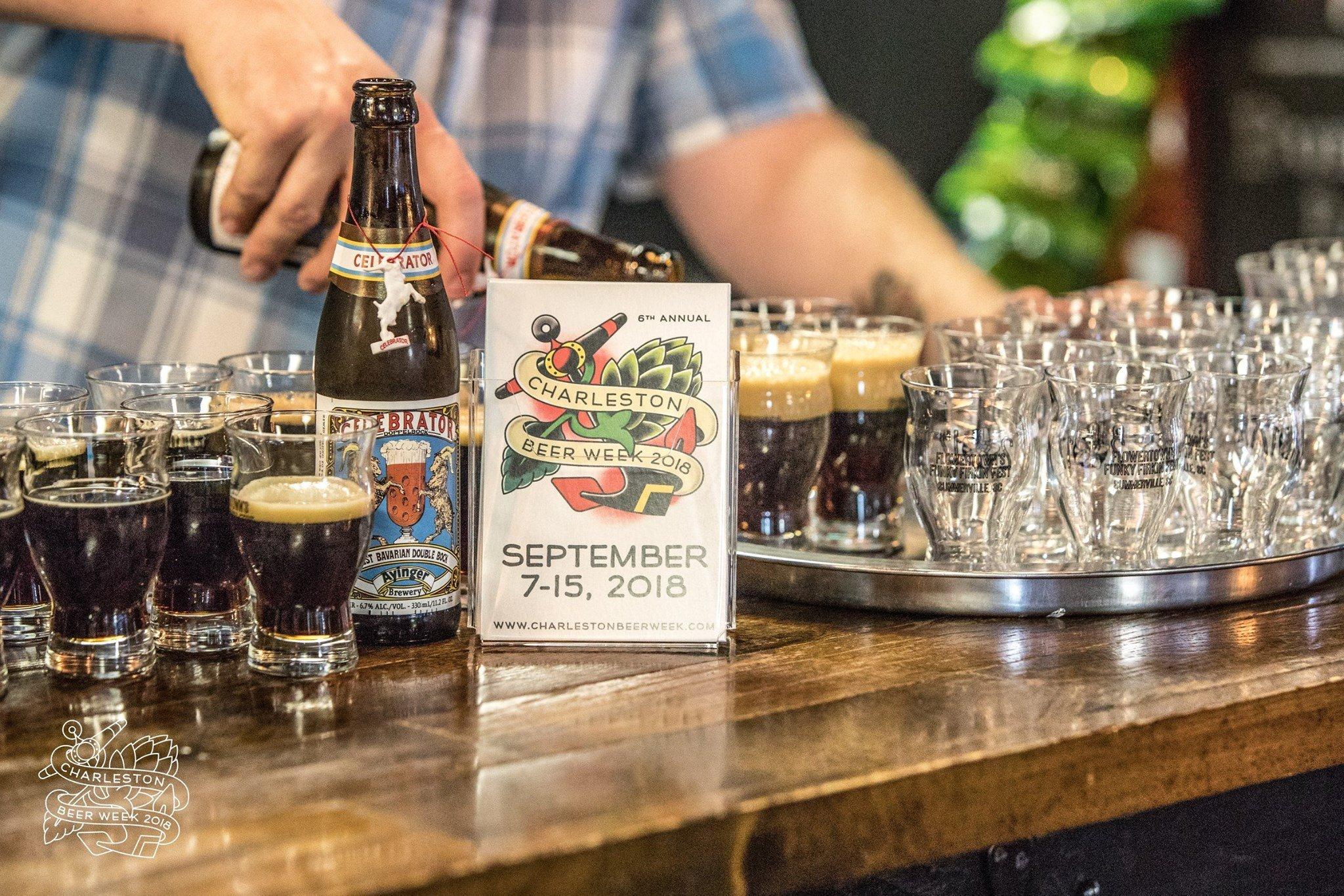 Beer tasting at the CHS Beer Week 2018