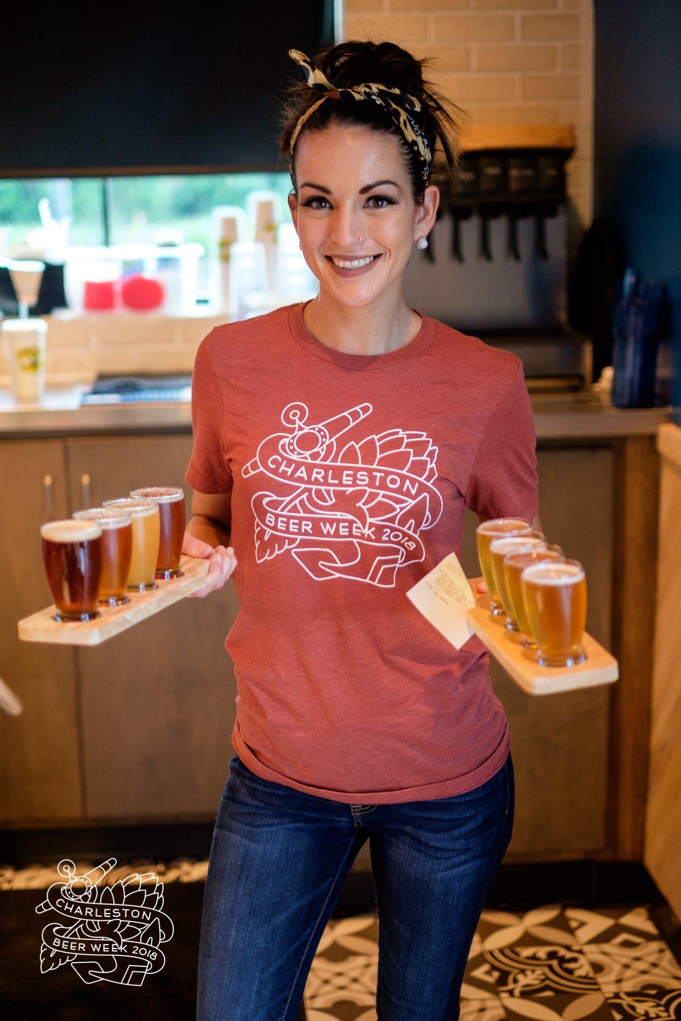 Charleston Beer Week 2018 Beer Flights