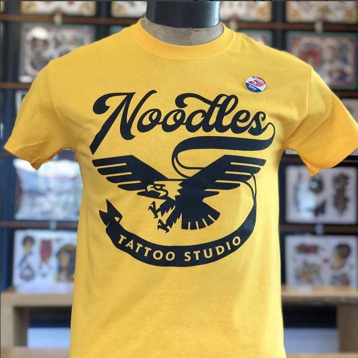 Noodles Tattoo Shirt Yellow